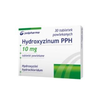 Hydroxyzinum-VP, hydroksyzyna w tabletkach