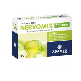 Suplement Nervomix wspomagający zasypianie